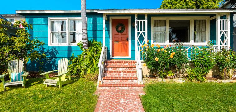 beach house cottage and casita gallery california los angeles rh myfavoritevillas com beach cottage los angeles garden cottage los angeles