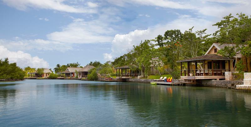 Lagoon cottages at goldeneye jamaica villas 01
